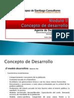 Modulo 2. Concepto de Desarrollo. Prof. Jesús López