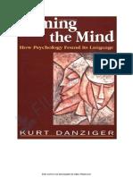 danziger- nombrar la mente