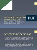 UA7 DISEÑO DE LA CAPACIDAD DE PRODUCCIÓN