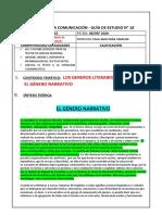 5° SEC COM LOS GENEROS LITERARIOS III-LA NARRATIVA 08-09-2020.doc