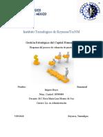 Tarea Diagrama del Proceso de Valuación de Puesto