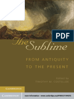 Costelloe, Timothy M - The sublime_ from antiquity to the present-Cambridge Univ. Press (2012).pdf