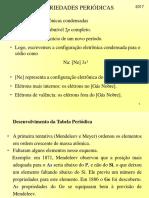 Propriedades periódicas - Química geral (03)