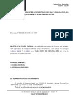 EMBARGOS DE DECLARAÇÃO MARCELA