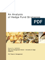 Hedge Fund Strategies -Phd Thesis