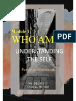 Module 1 Blank Personal Workbook