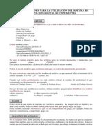 RECOMENDACIONES PARA LA UTILIZACIÓN DEL SISTEMA DE TRAMITACIÓN DIGITAL DE EXPEDIENTES