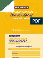 Guía metodológica para crear ideas innovadoras