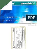 rg e cartão de saude