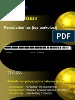 PERCOLATION TEST