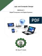 Module-1-CS103-Digital Logic and Computer Design