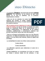 COSTOS DIRECTOS-UCV