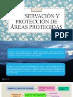 CONSERVACIÓN Y PROTECCIÓN DE ÁREAS PROTEGIDAS