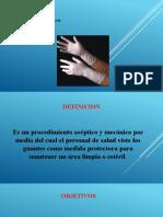 POSTURA DE GUANTES