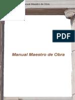 Manual del Maestro de Obra