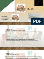 diapositivas Resolución 4142 de 2012