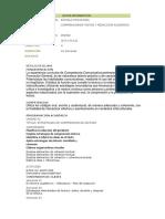 COMPRENSION DE TEXTOS Y  REDACCION DE TEXTOS