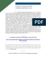 Fisco e Diritto - Corte Di Cassazione n 1213 2011
