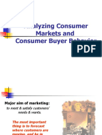 Analyzing Consumer Markets and Consumer Buying Behavior