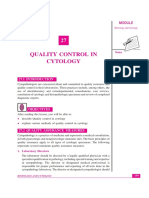 Lesson-27 Quality control in cytology(1)