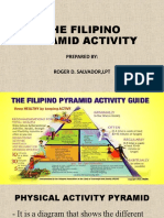 THE FILIPINO PYRAMID ACTIVITY- Grade VI