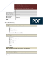 IT Project Management Plan - Scope Document