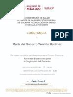 Maria del Socorro Treviño Martinez