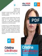 Pliant 100x210 Cristina Lacatusu