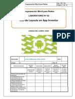 Lab02-Uso de Layouts en  AppInventor