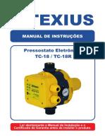 PRESSOSTATO TC-18 Manual