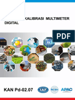 KAN Pd-02.07 Pedoman Kalibrasi Multimeter Digital