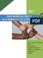 Descriminacion y racismo en guatemala