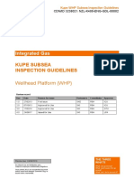 Kupe WHP Subsea Inspection Guidelines