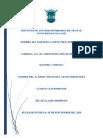 COSTOS (contabilidad financiera, gerencial y de costos) FRANCISCA ARCOS HERNANDEZ
