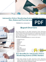 Automotive Driver Monitoring System (DMS) Market Size, Status and Forecast 2020-2026.pptx