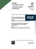 IEC 60107-8-1997