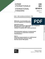 IEC 60107-4-1999