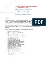 International Journal of Computer Science, Engineering and Applications(IJCSEA)