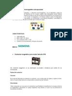 MARCO TEÓRICO PROYECTO DE CONTROLES ELECTRICOS