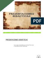 CURSO PRESENTACIONES DIDÁCTICAS