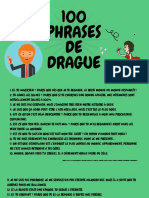 100 Phrases de Drague
