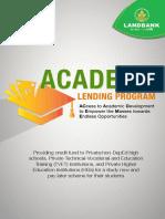 LandBank ACADEME Lending Program