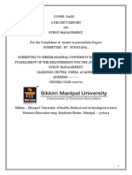 Project Report On-Event-management  FINAL