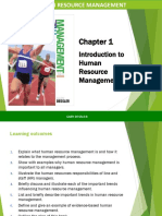 Chapter 1 Introduction to HRM coordinated