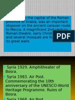 Syria Bosra The Historical City