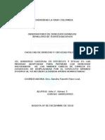 ENSAYO SEMILLERO DE INVESTIGACION
