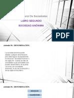SOCIEDAD ANONIMA Art 50 al 60