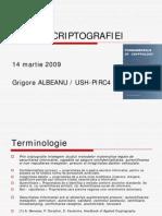 Bazele criptografiei - Tipuri de sisteme criptografice