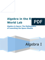 Algebra in Space  AFTER
