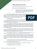Portaria Nº 2.335, DE 16 DE setembro DE 2019 - Afastamento para pós - AEI